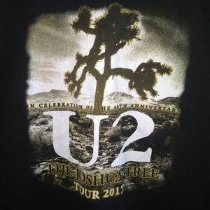 U2 Shirts - U2 CONCERT TOUR T-SHIRT 👕 2017 Rock Tee Shirt